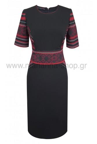 Φόρεμα κοκτειλ μαυρο