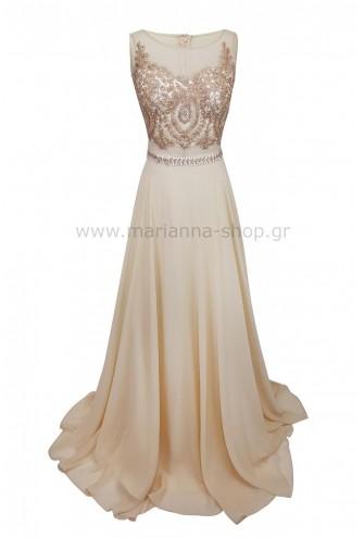 Φόρεμα κεντημένο νεανικό