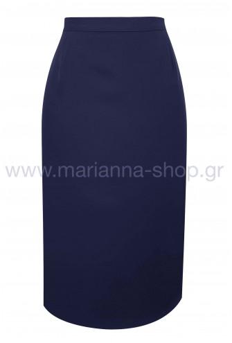 Φούστα μπλε
