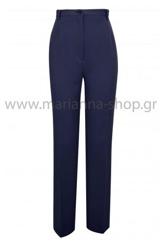 Παντελόνι κρεπ μπλε