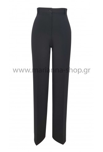 Παντελόνι μαύρο ίσιο