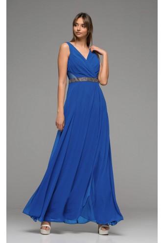 Μπλε ρουά αμπιγιε φόρμα