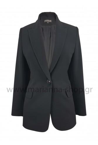 Σακάκι γυναικείο μαύρο