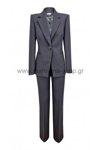 Κοστούμι γυναικείο γκρι