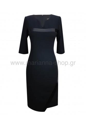 Φόρεμα πρωινό μαύρο