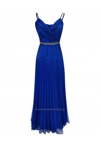 Φόρεμα μάξι πλισέ