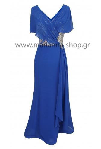Φόρεμα γοργονέ με κέντημα