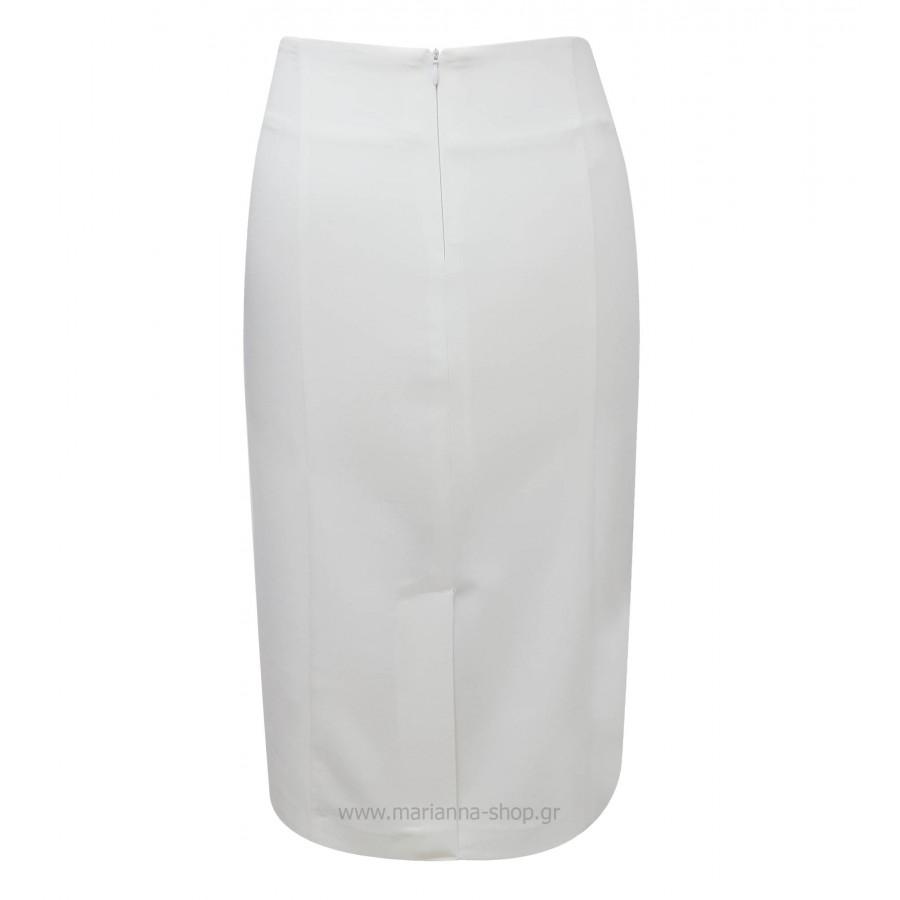 φούστα-ψηλόμεση-ίσια-μίντι