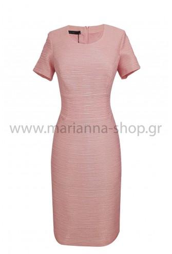 Φόρεμα βραδινό ροζ